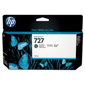 Bläckpatron HP B3P22A 727 Mattsvart