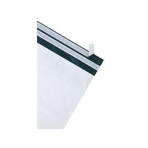 E-handelspåse Vit plast, vattentålig, 340x420+70mm, 100st