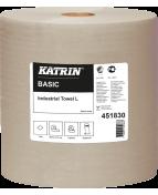 Industritorkrulle KATRIN Basic L Natur, 1-lag, 564m