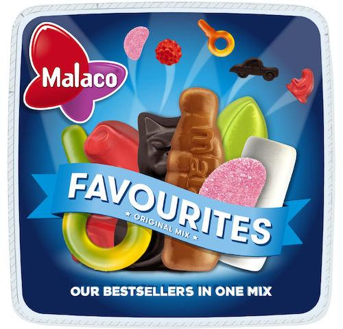 Malaco Fav Orginal mix 900g