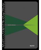 Anteckningsblock LEITZ kart A5 linj grön