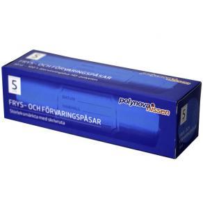 Fryspåse 5-liter, HD-polyeten, 30/rl