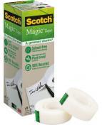Dokumenttejp Scotch Magic 900 Greener, osynlig, 19mm x 33m, 9/fp