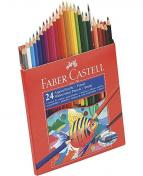 Akvarellpenna FABER-CASTELL 24 färger