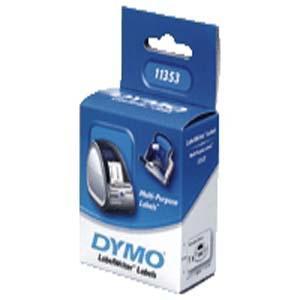 Etiketter Dymo LW Universal, 25x13mm, 1000/fp