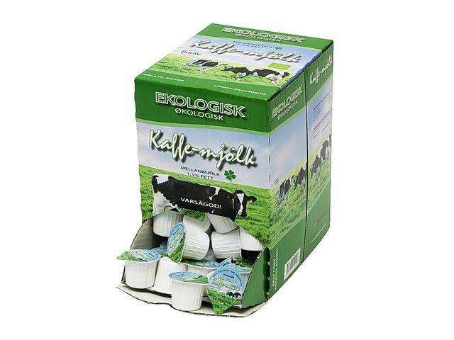 Kaffemjölk Lång hållbarhet Ekologisk, 16ml, 100/fp