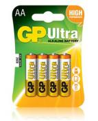 Batteri GP Ultra LR6/AA 1,5V 4/FP