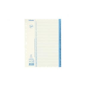 Pärmregister JOPA Papper A4 1-31, blå flik, 10st