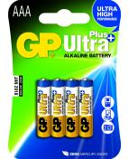 Batteri GP Ultra Plus AAA LR03 4/FP