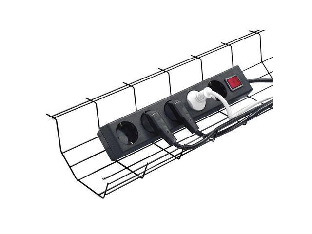 Splitter nya Kabelkorg Multi Svart, 49x15x8cm, endast 184 kr MM-82