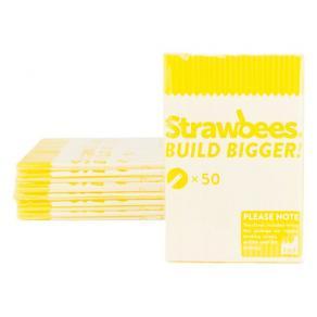 Straws till Strawbees gula 50/FP