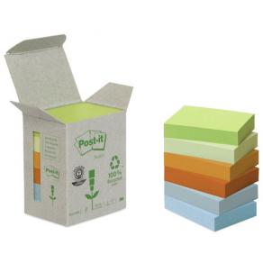 Notes POST-IT 100% recycl 38x51mm (6)