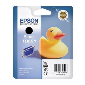 Epson T0551 - Utskriftkassett - 1 x svart - 290