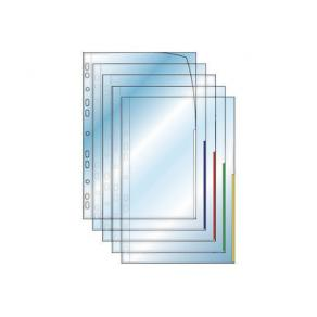 Plastficka Signal A4 0,12mm röd