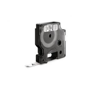 Tape DYMO D1 9mm x 7m sort/hvit