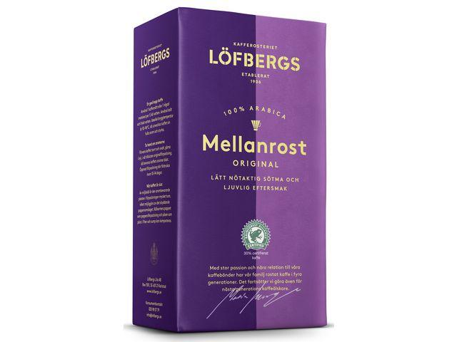 Kaffe Löfbergs Mellanrost Brygg, 500g