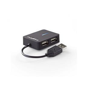 Hub NEDIS USB 4-port Travel