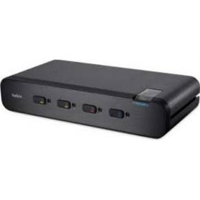 Belkin Advanced Secure UHD Dual-Head DisplayPort KVM Switch with