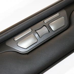 Möss ergonomiska - Rullmus Ergoslider Plus+, Svart