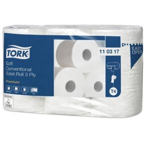 Toalettpapper TORK Premium T4, 3-lag, soft, 42/FP
