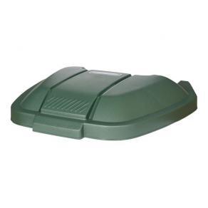 Lock till soptunna RUBBERMAID 100L grön