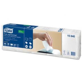 Servett för TORK dispenser Xpressnap N4, 2-lag, vit, 500/FP
