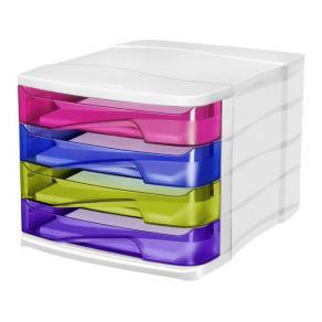 Blankettbox CEP Happy Multicolour, 4 lådor