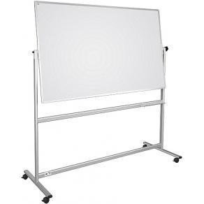 Whiteboardtavla vändbar/mobil 150x120cm
