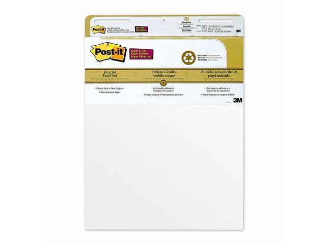 Blädderblock POST-IT Rec 635x775mm