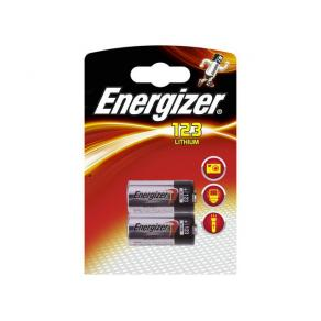 Batteri Energizer Lithium Foto 123, 2/fp