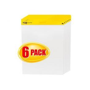 Blädderblock POST-IT 635x775mm 6-pack