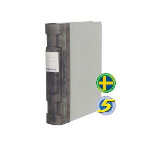 Gaffelpärm Plast KEBAFrost A4+ Grå, 55mm