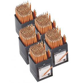 Storpack blyertsp. FABER polerad 500/FP