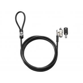 Vajerlås HP Keyed Cable Lock 10mm