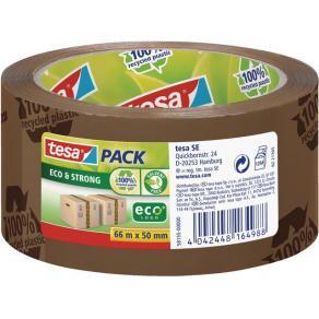 Packtejp TESA Eco & Strong Brun, PP, 50mm x 66m