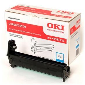 OKI - Cyan - valsenhet - för C5550 MFP, 5800dn,