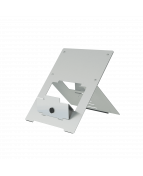 R-Go Riser Flexible Laptop Stand, adjustable, silver