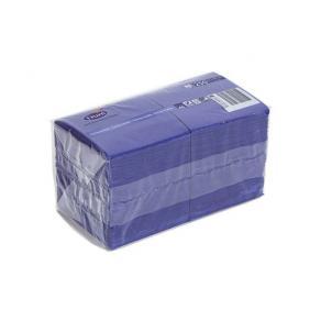 Servett 3-lags 24x24cm mörkblå, 250st