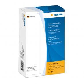 Frankeringsetiketter HERMA, 163x44mm, 500/fp