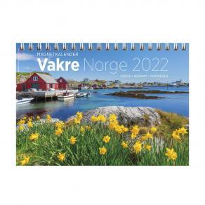 Veggkalender GRIEG magnet Vakre Norge 2022