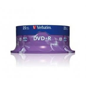 DVD+R Verbatim Cakebox, 4,7Gb, 25/fp