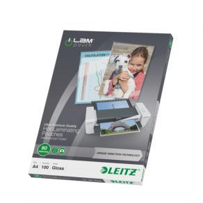 Laminat Leitz A4, 80mic, 100/fp