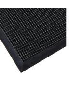 Skrapmatta Rubett 90x180cm svart