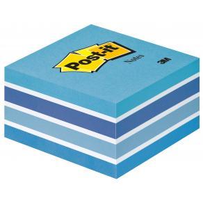 Post-It Kub Fresh Blue, 76x76mm, 450 blad