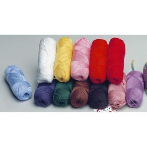 Virkgarn, 10 färger