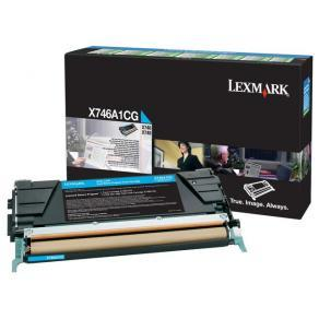 Lexmark - Cyan - original - tonerkassett LCCP,