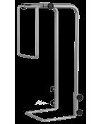 R-Go Steel Basic CPU Holder, adjustable, silver
