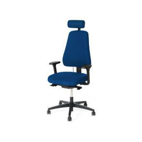 Kontorsstol LANAB LD6340 Blå, med svankstöd