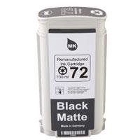 HP No 72 black matte 130 ml, No 70