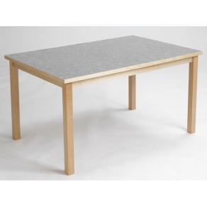 Akustikbord 80x140cm Ljusgrå höjd 52cm